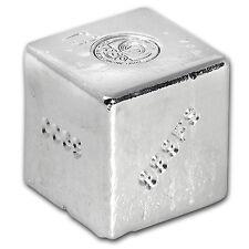 1 kilo Silver Cube - ShinyBars - SKU #105175