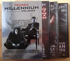 DVD,Milennium Trilogia.Stieg Larsson