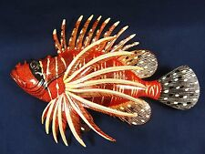 "Lion Fish Tropical Reef 8"" Wall Plaques Nautical Home Decor (D)"