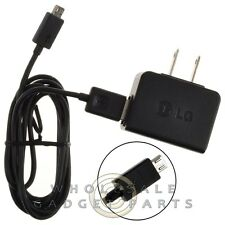 LG Micro USB OEM Travel Charger with Detachable Cable Connector Power Plug Cord