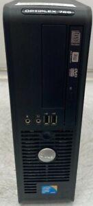 Dell OptiPlex 760 - 2 Duo CPU E7500 @ 2.93GHz - 4GB RAM - Desktop - 7