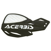 Acerbis MX Uniko Vented Handguards w/Fitting Kit - Black