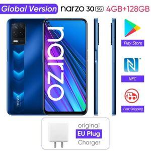 Oppo Realme Narzo 30 5G Smartphone 4GB+128GB 48MP Triple Camera Global CellPhone