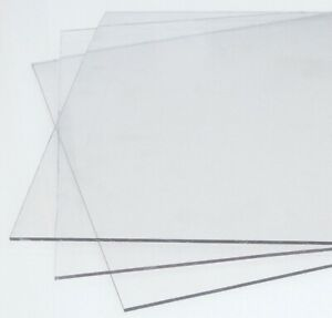 CLEAR POLYCARBONATE SHEET UNBREAKABLE SCREENS / PANELS VARIOUS SIZES AVAILABLE