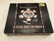 Multi-player World Series of Poker VR39-RS Texas Hold Em Wireless Plug &Play TV
