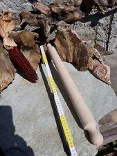 MATTARELLO matterello rullo legno FAGGIO pasta 60 cm PERSONALIZZATO con NOME