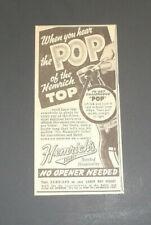 Hemrichs Beer 1939 Original Newspaper Ad