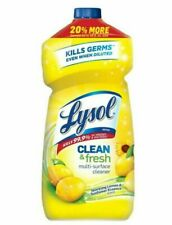 Lysol Clean & Fresh Concentrated Multi-Surface Antibacterial  Cleaner - 48 oz.