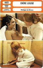 Fiche Cinéma. Movie Card. Chère Louise (France/Italie) 1972 Philippe de Broca