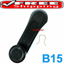 1 WINDOW HANDLE CRANK BLACK FIT ISUZU TF TFR TROOPER Vauxhall Brava Holden Rodeo