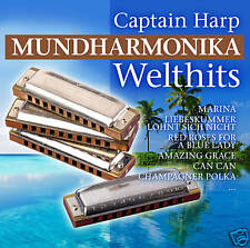 CD Captain Harpe Harmonica Welthits 2CDs