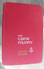 The Caine Mutiny Herman Wouk 1951 First Edition Vintage