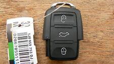VW Volkswagen key fob 3 Button REMOTE KEY CASE Passat Bora Golf JETTA