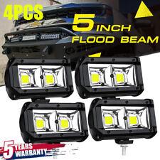 "4PCS 5"" INCH 48W Flood Led Work Light Bar Pods Combo Offroad SUV ATV 12V Fog HOT"