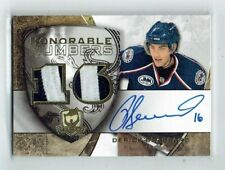 08-09 UD The Cup Honorable Numbers  Derick Brassard  /16  Auto  Patches  Rookie