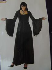 Angel of Darkness Gothic Halloween California Costumes M Medium Dress Only #1243
