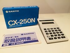 Sanyo CX-250N Mini Calculator