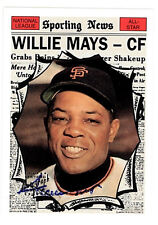 1997 TOPPS WILLIE MAYS AUTOGRAPH AUTO ARCHIVES 1961