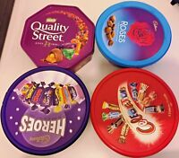 CELEBRATION / HEROES / QUALITY STREET & ROSES TUB CHOCOLATE PERFECT PARTY GIFT