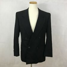 MANI By Giorgio Armani Men's Sport Coat Blazer Jacket - Black - Size 40