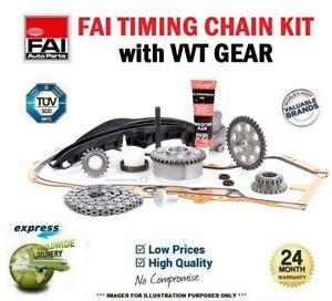 FAI TIMING CHAIN VVT Gear KIT for VW PASSAT Variant 1.4 TSI 2010-2014