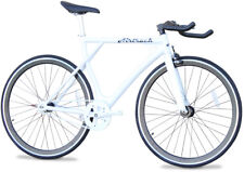 Airtrack Bike Aluminum Road Bicycle Single Speed Black Fixed Gear Fixie 53 cm