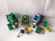 LEGO Duplo Kehrmaschine + 2 x Müllabfuhr + Müll Tonne - Set 4678 + 4659 -