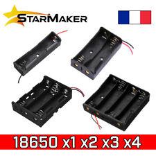 Coupleur Batterie 18650 support boitier 1 2 3 4 piles Li-ion 3.7 7.4 11.1 14.8V