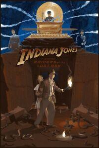 Indiana Jones Raiders of the Lost Ark by Laurent Durieux Print Regular Not Mondo