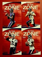 """2020 Score Football """"IN THE ZONE"""" Inserts - You Pick Your Card - Complete Set"""