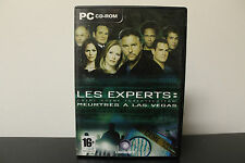 CSI: Crime Scene Investigation -- Meurtres A Las Vegas  (PC, 2004) *French