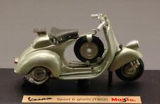 Model Vespa vehicles Scale 1:18 Motor Bike Vespa Sport 6 Days Models