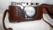 Vintage RARE Original Leotax 1952 No 28552 Showa Optical Works LTD Case Camera