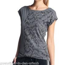adidas Performance Damen Funktionsshirt Sportshirt Shirt Fitness Yoga grau XS
