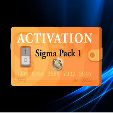Sigma Pack 1 Activation Code for Sigma Box