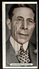 Tobacco Card, Ardath, FAMOUS FILM STARS, 1934, George Arliss, #14