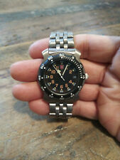 Vintage Swiss Army Renegade Military Men's Divers Style Watch Nice!!
