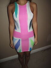 "Motel Rocks ""New Zoe"" Union Jack print Multi-color Dress size XS"