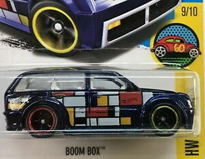 HOT WHEELS 2016 SUPER TREASURE HUNT BOOM BOX WITH RUBBER TIRES