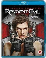 Resident Evil (Blu-ray, 2017, 6 - Disc Set)
