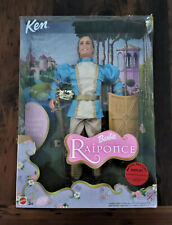 Barbie Ken as Prince Stefan from Rapunzel FRENCH #55747 Damage to Box  .. Rare?