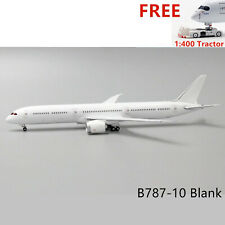 (Rare)1:400 JC Wings B787-10 Blank Diecast Model For DIY +Free Tractor