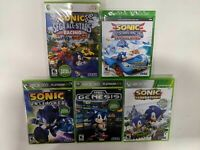 Sonic Xbox 360 Lot - 5 Brand New Games - Racing, Unleashed, Generations