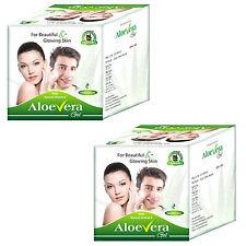 Herbal Aloe Vera Moisturizing Gel Cream Improve Skin Glow Fairness 2 Packs