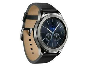 Samsung Gear S3 Classic Smartwatch 46mm LTE Leather Strap SM-R775T - Silver