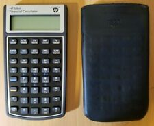 Hewlett Packard HP 10bII Financial Calculator + case sleeve TESTED