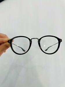 Barton Perreira eyewear Model GETTY colour BLACK. NEW Made in Japan