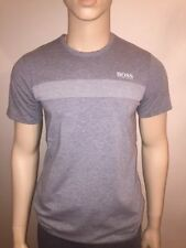 HUGO BOSS Crew Neck Fitted Long Sleeve T-Shirts for Men