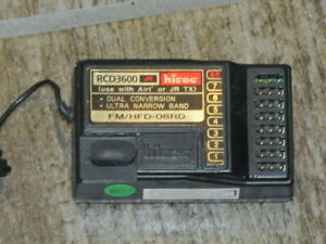 Hitec HFD-08RD RCD3600 72mhz FM 8 Channel Receiver for JR & Airtronic Channel 60