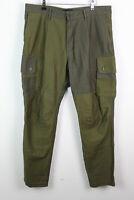 LEVI'S Olive Trousers size W36 L32